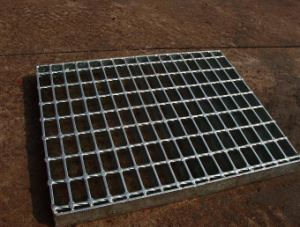 Hot Dipped Galvanized Steel Grating for Construction pictures & photos