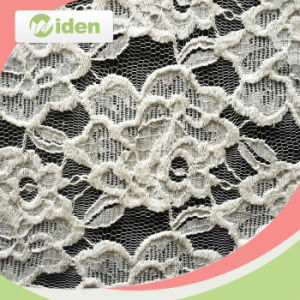 Nylon and Spandex Embroidered Lace Fabric for Women Clothes pictures & photos