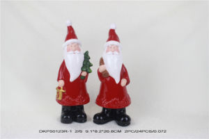 Ceramic Pottery Christmas Standing Santa Decoration pictures & photos