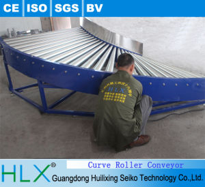 Curved Roller Conveyor in Hlx pictures & photos