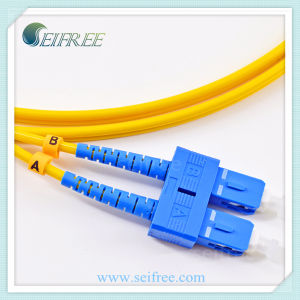Sc FTTH Single Mode Fiber Optical Pigtail Patch Cord Cable pictures & photos