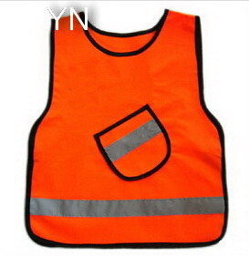 High Visibility Kids Reflective Safety Vest with En1150 Approval pictures & photos
