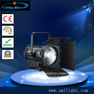 Dimmable Fresnel Lens 3200k-5600k LED Video Spotlight for Studio/Video/Stage/Film pictures & photos