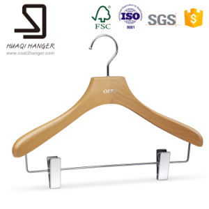 Wholesale Cheap Wooden Hangers, Clothes Hanger for Pants pictures & photos