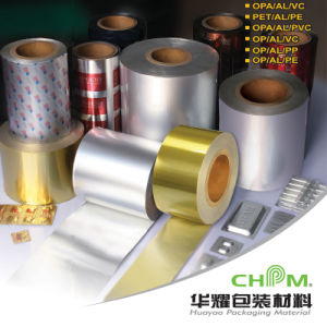 Laminated Aluminum Foil Paper Roll for Pharmacy Industry pictures & photos
