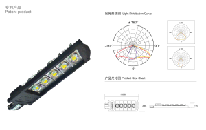 275W White Road LED Street Light with Bridgelux Chip pictures & photos