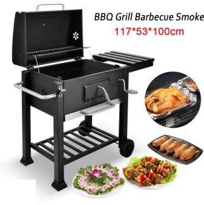 Charcoal Bbq Grill Smoker