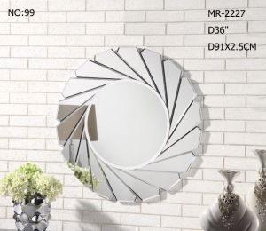Splish Living Room Round Wall Mirror for Home Decor pictures & photos