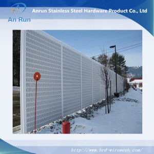 sound barrier walls. Perforated Metal Sound Barriers Road Noise Barrier Walls