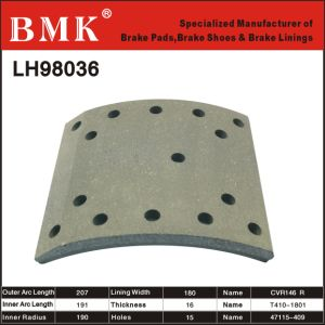 High Quality Brake Lining (LH98036) for Isuzu pictures & photos