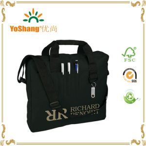 Customize Wholesale Portable Multi-Function Waterproof Ployester Handled Laptop Bag pictures & photos