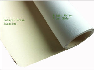 china natural cotton inkjet canvas for hp epson canon printer