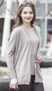 Women′s Cardigan Cashmere Sweater (1500002039) pictures & photos