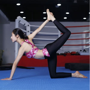 80% Polyester 20% Elastane Print Yoga Tights pictures & photos