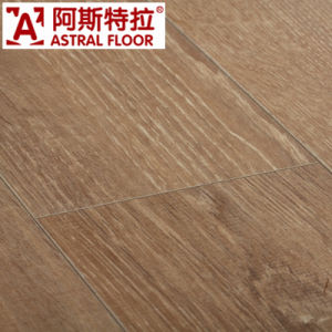 Washed Oak AC3 HDF Wood Grain Laminate Flooring/ (AS3503-9) pictures & photos
