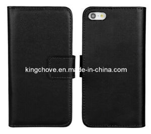 Fashion and Best Selling Leather for iPhone 5 Case (KCI06-1)