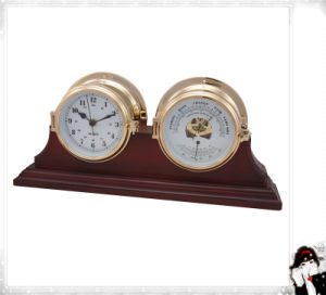 Wooden Stand Base of Clock and Barometer pictures & photos