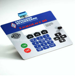 Custom Matrix Membrane Switch for Industrail Equipment pictures & photos