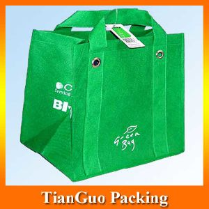 Reusable Nonwoven Wine Bag (NW-03TG)