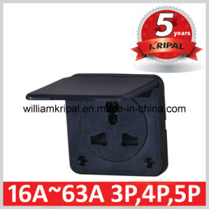 IP44 Electrical Power Socket Outlet pictures & photos