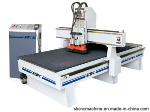Two Heads Woodworking CNC Router Machine for Cutting (SK-CPG1325D)
