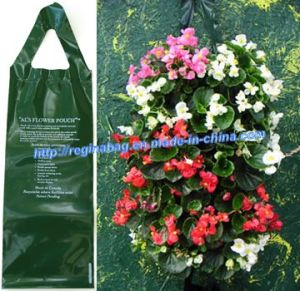 Green Flower Planter Bag (YC-5103)