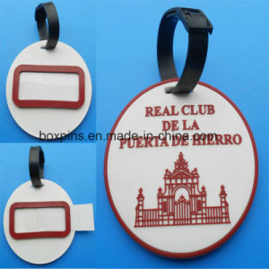 Soft PVC Round Shape Luggage Tag