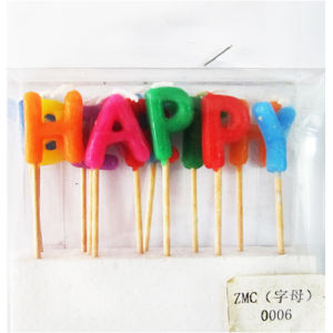 Happy Birthday Party Candles (ZMC0006)