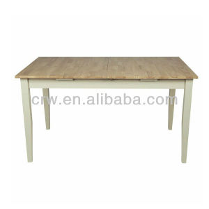 Dt-4009 French Style Extension Table Wooden Base for Dining Table pictures & photos