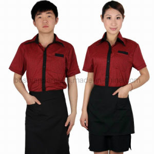 New Style Waiter Clothing (WU13) pictures & photos