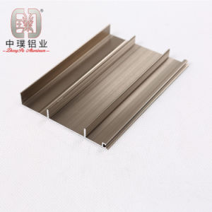 Elegant Aluminium Skirting Profile for Wall and Tile (ZP-S784)