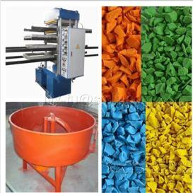 Hydraulic Rubber Ground Tile Press / Rubber Flooring Making Machinery