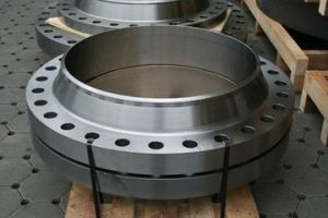 Forged Carbon Steel St37.2 Flat Face Flanges pictures & photos