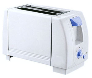 2-Slice Toaster with Metal Sides/PP Ends (WT-2001)