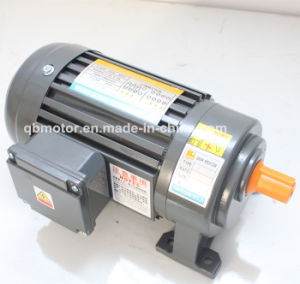Coaxial Shaft Gear Reducer 0.2kw 3-Phase Small AC Motor pictures & photos