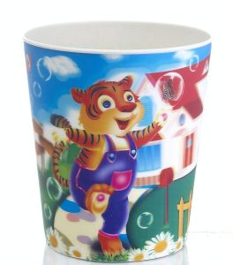 Heat Transfer Film for Plastic Bucket pictures & photos