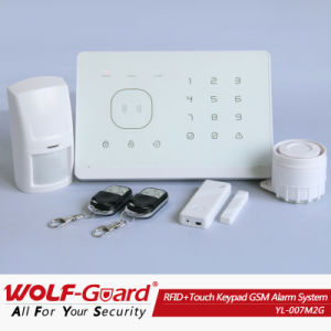 868MHz/433MHz 2014 Wireless Wolf Guard Alarm System GSM Home Automation Alarm Security System with LCD Display and Touch Keypad (YL-007M2G) pictures & photos