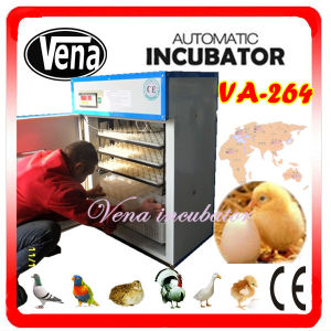 CE Approved Fully Automatic Quail Egg Incubator for 663 Eggs pictures & photos