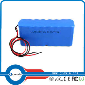 14.8V 12000mAh 4A Rechargeable Li-ion Battery Pack pictures & photos