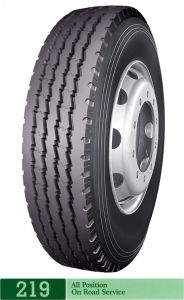 Long March Steer/Trailer Truck Tyre with tube (LM219)