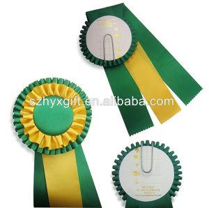 China Award Ribbon Rosette, Award Ribbon Rosette Wholesale