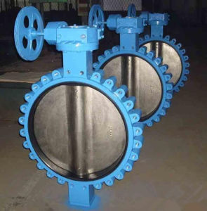 Manual Operation Ductile Iron Butterfly Valve pictures & photos