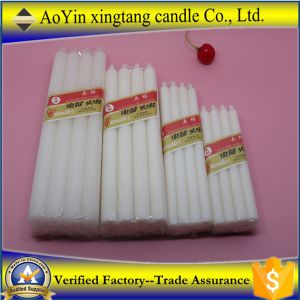 Wholesale Cheap Pure White Paraffin Wax Candle Made in China pictures & photos