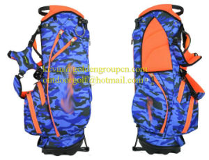 Outdoor Custom Leather Disc Golf Bag with Wheel and Golf Bag Parts 2016 pictures & photos