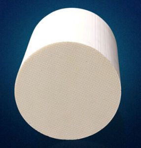 China Cordierite Honeycomb Ceramic Catalyst Substrate For