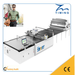 Computer Controled Automatic Garments Fabric Shape Cutting Machine