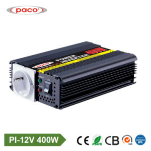Paco off Grid 12V 400W DC AC Car Power Inverter