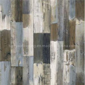 For Cafe Bar Area Antique Wood Design Luxury Quality Vinyl Floor Plank