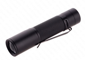 Zoom CREE XPE LED Metal Clip Pen Flashlight