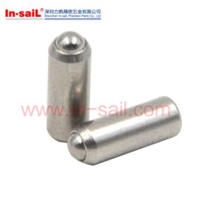 High Quality Stainless Steel Press Fit Spring Plungers for Valve pictures & photos